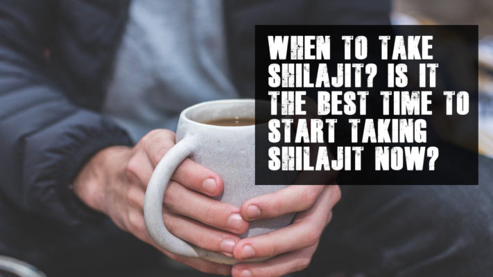 When to take shilajit